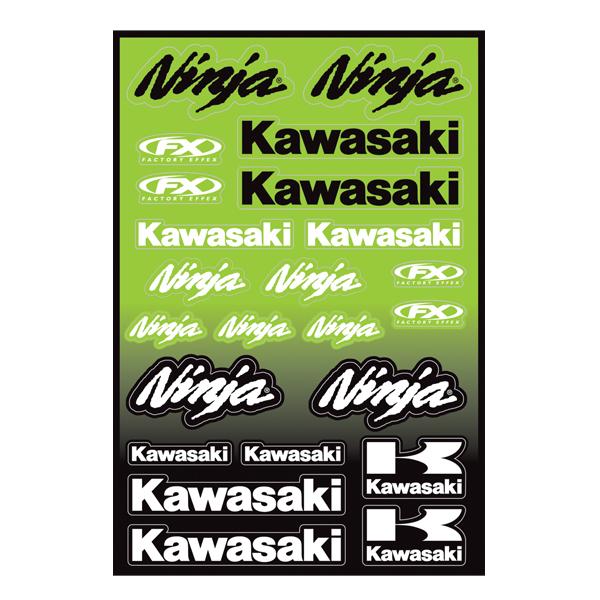RACER GRAOHIC KIT ON KAWASAKI