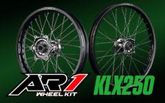 AR1ホイールキットKLX250